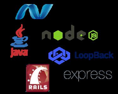 développement back-end île maurice: NodeJs,Ruby on Rails,Java,.NET, express, loobpack